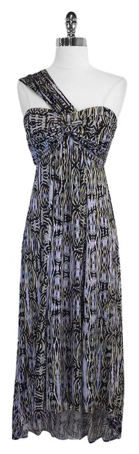 Tracy Reese short dress Print High Low One Shoulder on Tradesy