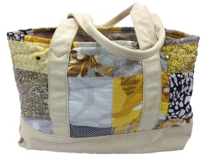 J.Crew Madras Patchwork Tote in Multi-color