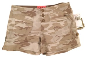 Juicy Couture Cargo Shorts Green - Camo Print