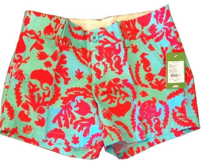 Lilly Pulitzer Shorts Shorely Blue Don't Be Shellfish