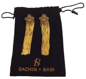 Sachin + Babi Sachin + Babi NWT Gold Tone Dangly Earrings