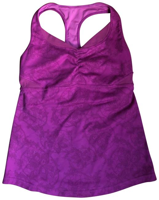 Lululemon Fuchsia Lululemon Racer Back With Open Back