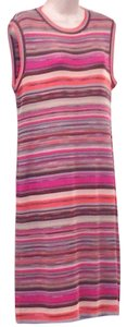 Missoni Knit Casual Cocktail Sleeveless Dress