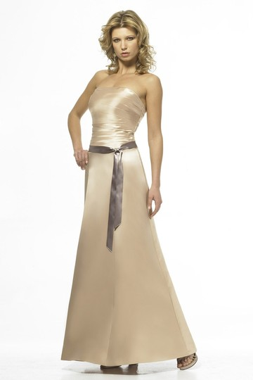 Alexia Designs Gold / Champagne Style 846 Dress