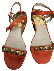 Michael Kors Wedge Orange Wedges