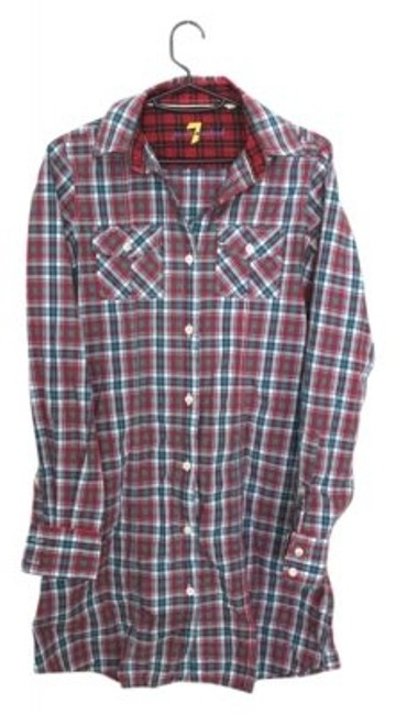 Preload https://item4.tradesy.com/images/7-for-all-mankind-plaid-button-down-top-size-2-xs-5218-0-0.jpg?width=400&height=650
