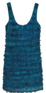 Tracy Reese short dress Teal on Tradesy