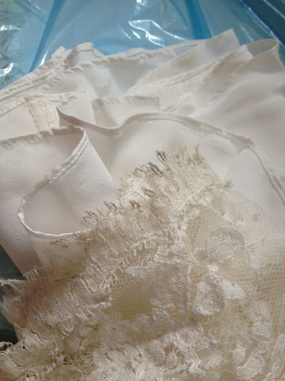Nicole Miller Ivory Lace Jc0001 Vintage Wedding Dress Size 2 (XS)