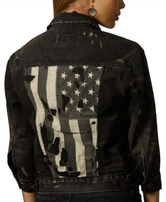 Ralph Lauren BLACK Womens Jean Jacket