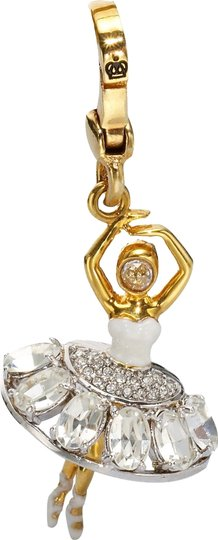Juicy Couture NEW Juicy Couture Ballerina Dancer Bracelet Charm (Retired)