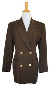 Dior Christian Vintage Jacket Military Green Blazer