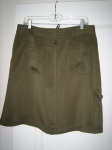 prAna Tencel Eco-friendly Skirt Olive Green