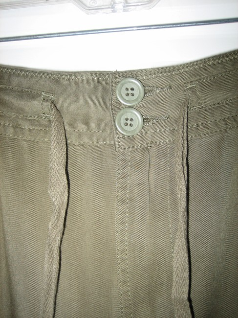 prAna Tencel Eco-friendly Sustainable Fabric Comfortable Skirt Olive Green