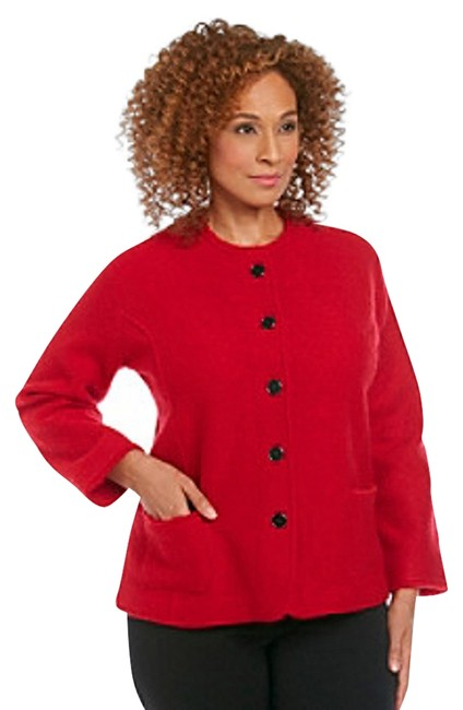 Preload https://item3.tradesy.com/images/alfred-dunner-red-boiled-wool-jacket-blazer-size-6-s-521882-0-0.jpg?width=400&height=650