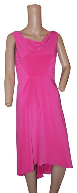 Preload https://item4.tradesy.com/images/adrianna-papell-bright-pink-hi-low-short-workoffice-dress-size-4-s-5218933-0-0.jpg?width=400&height=650
