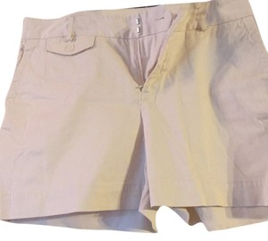 Banana Republic Mini/Short Shorts Ivory