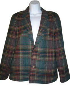 JG Hook Multicolor Plaid Jacket