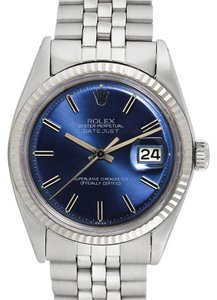 Rolex Rolex Datejust Stainless Steel Blue Dial Men's Watch