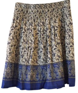 Zara Skirt Blue/multi