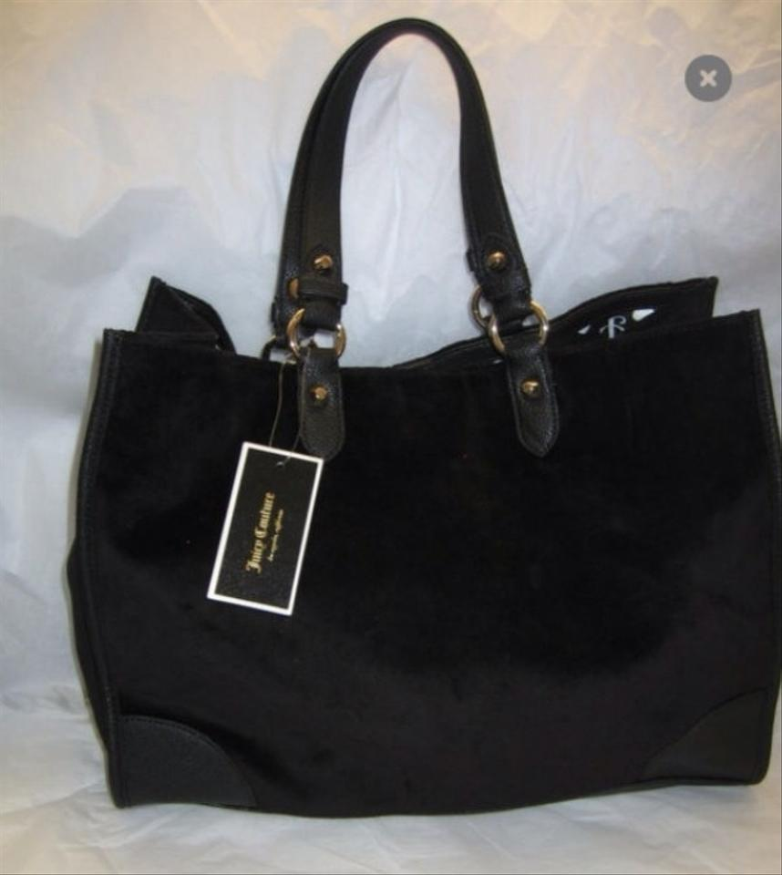 juicy couture black tote bag on sale 47 off totes on sale. Black Bedroom Furniture Sets. Home Design Ideas