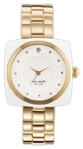 Kate Spade Kate Spade New York 1YRU0058 Analog Display Japanese Quartz Gold Women's Watch