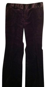 Banana Republic Boot Cut Pants Purple/Wine
