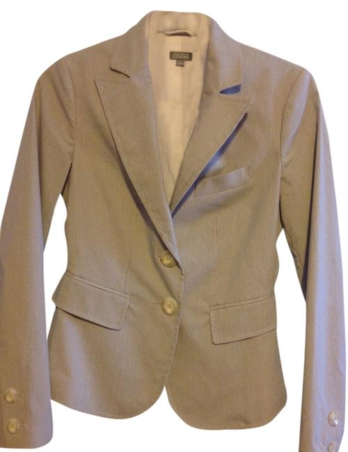 United Nations Colors Blue and white (pinstripe) Blazer