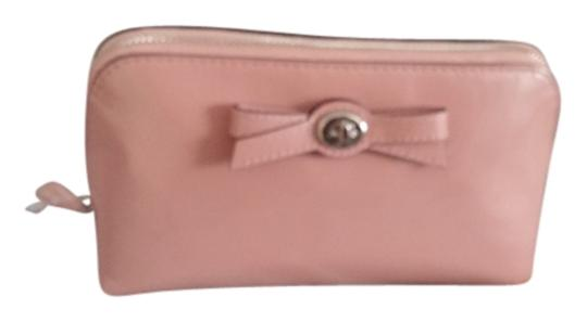 Coach Coach Blush Patent LEather Cosmetic Bow Case