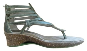 Ahnu Golden Green Sandals