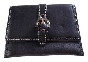 Coach Coach Black Slim Wallet Card Case
