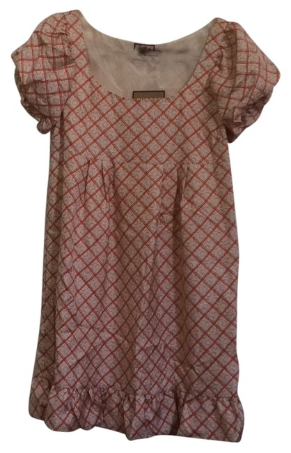 Juicy Couture short dress Beige with orange on Tradesy