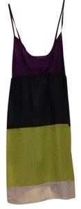 Hurley short dress Purple/white/lime Green on Tradesy
