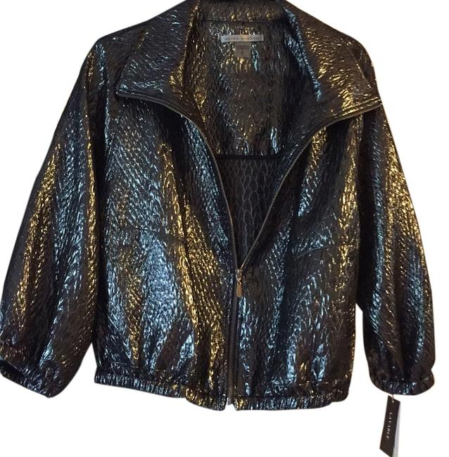 Preload https://item4.tradesy.com/images/peter-nygard-silver-metallic-blazer-size-14-l-5222143-0-0.jpg?width=400&height=650