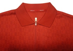 Bally T Shirt Red