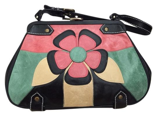 Isabella Fiore Satchel in Colorful