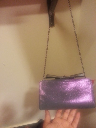 Judith Leiber purple Clutch