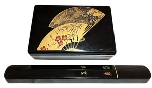 Bento Box & Chopsticks Set [ Roxanne Anjou Closet ]