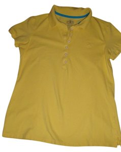 Izod T Shirt Yellow