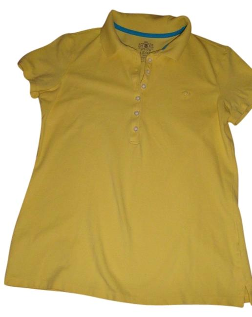 Preload https://item4.tradesy.com/images/izod-yellow-tee-shirt-size-6-s-522558-0-0.jpg?width=400&height=650
