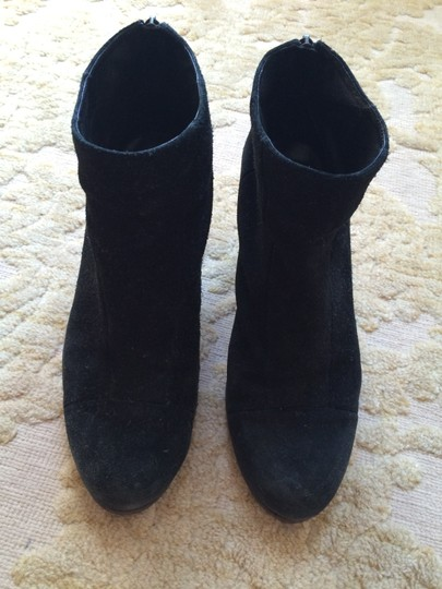 Vince Camuto Suede Black Boots