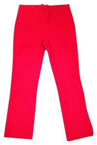 Corey Lynn Calter Straight Pants Red