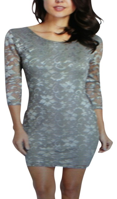 Preload https://item3.tradesy.com/images/guess-silver-gray-lace-above-knee-cocktail-dress-size-8-m-522912-0-0.jpg?width=400&height=650