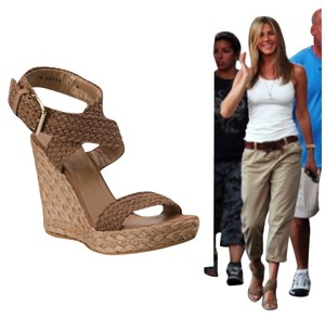 Stuart Weitzman Jennifer Aniston Stuart Alex Swamp Wedges