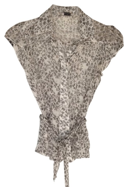 Guess Top Floral gray