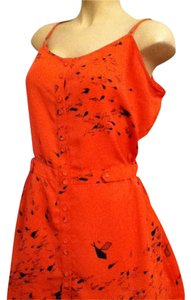 Rachel Roy short dress coral, orange A-line Coral on Tradesy