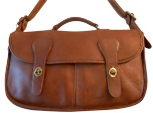 Coach British Tan Messenger Bag