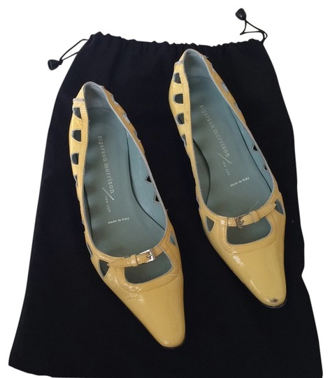 Sigerson Morrison Yellow and blue interior Flats