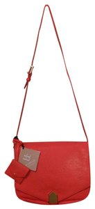 Allibelle Watermelon Leather Folio Cross Body Bag