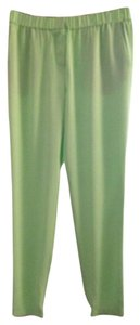 Tibi Straight Pants Green lime