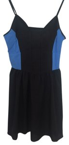 Urban Outfitters short dress Black & Blue on Tradesy